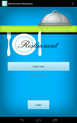 Microinvest Restaurant за Android